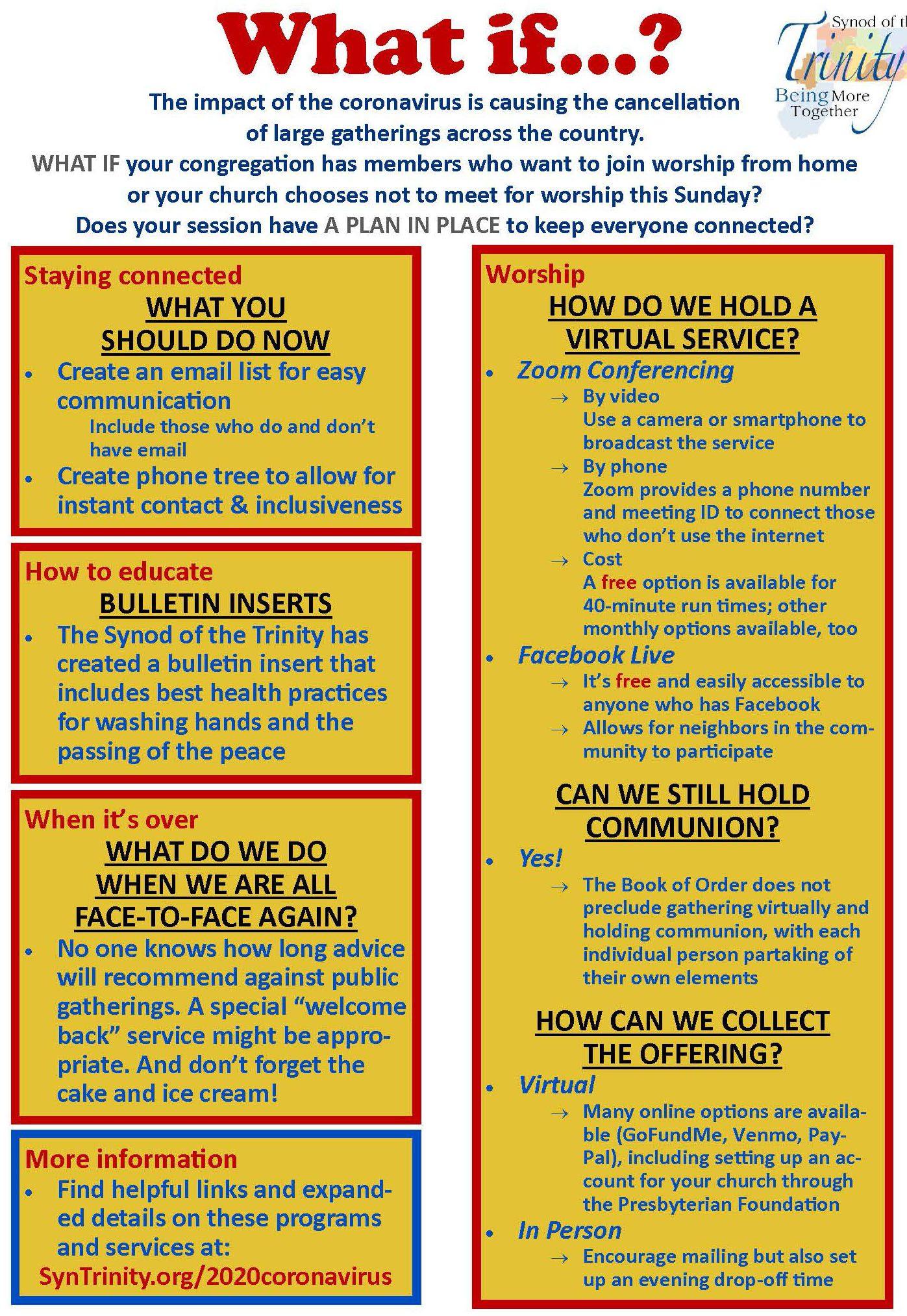 Covid 19 Resource Page Wv Presbytery